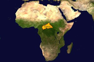Centrafrique Carte 2