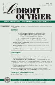 Le Droit Ouvrier, avril 2014 [revue]